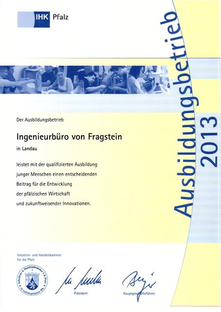 IHK-Ausbildungsbetrieb-2013